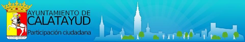 Portal de Participación Ciudadana del Ayuntamiento de Calatayud logo